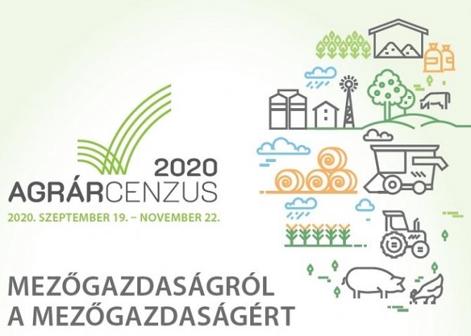 Szombaton folytatódik az agrárcenzus - Szeptember 19. és november 22. között összeírók keresik fel a gazdákat