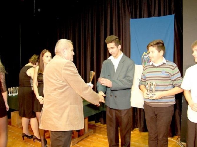 Elismerés a diáksportolóknak
