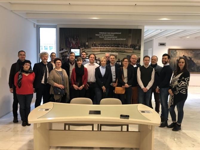 Orvostechnológiai megoldások: a Medtech4 Europe projekt partnerei Maastricht-ba látogattak