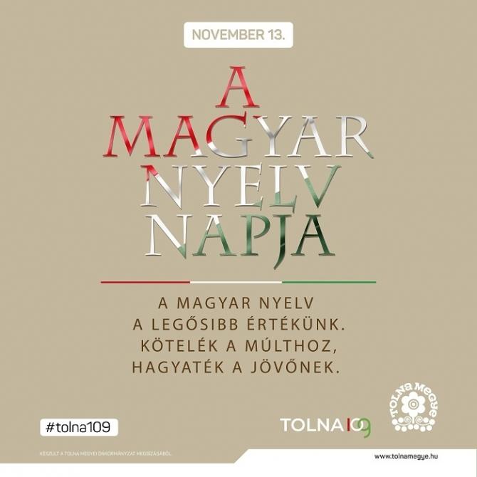 Éljen tovább a magyar nyelv sokáig!