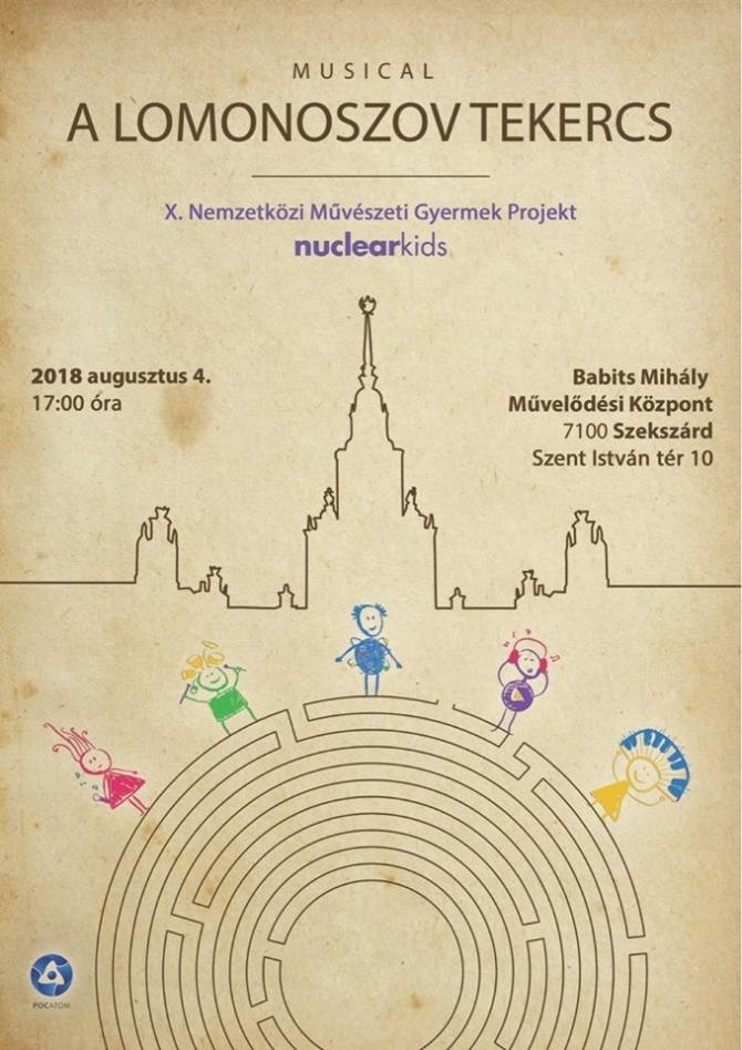 Programajánló: a Lomonoszov tekercs című musical