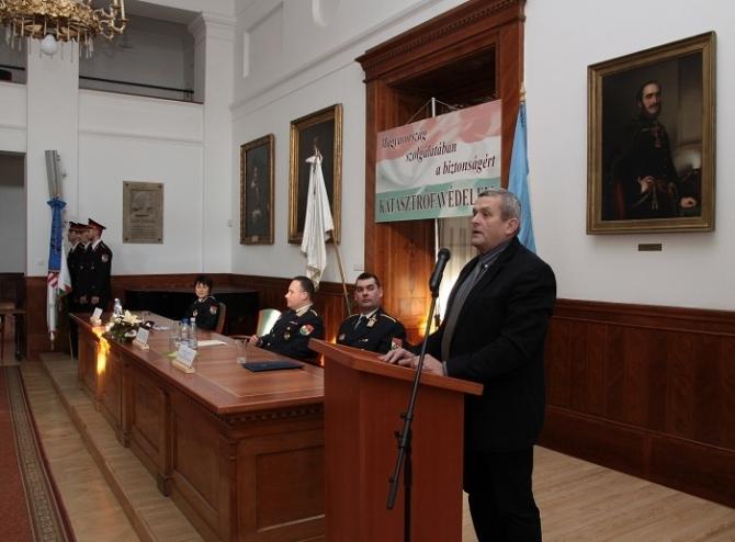 Az eredményesség jellemezte a megyei katasztrófavédelem tavalyi évét