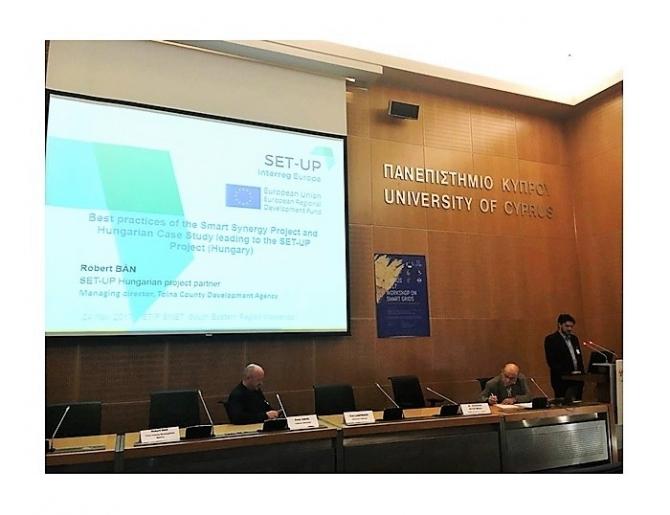 Ciprusi konferencián vett részt a megyei fejlesztési ügynökség