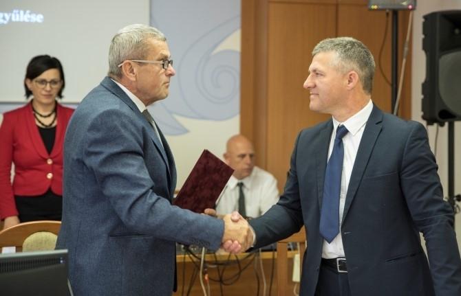 Orbán Attila a megyei alelnök
