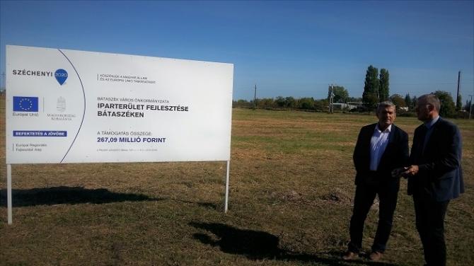 Bátaszéken megkezdődik az ipari park építése